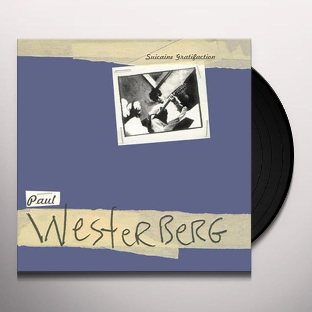 Paul Westerberg SUICAINE GRATIFACTION Vinyl Record - Gatefold Sleeve, 180 Gram Pressing