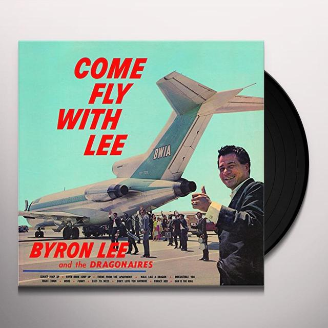 Byron Lee COME FLY WITH LEE Vinyl Record