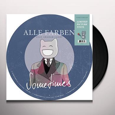 Alle Farben SOMETIMES (GER) Vinyl Record