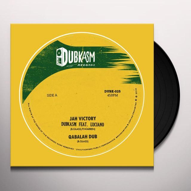 Dubkasm JAH VICTORY / RIGHT THERE (UK) (Vinyl)