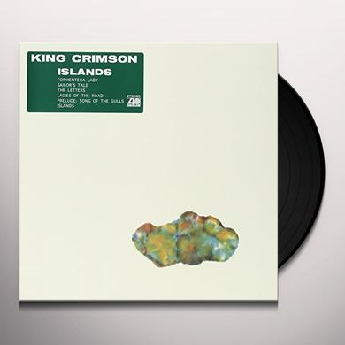King Crimson ISLANDS Vinyl Record - Japan Import