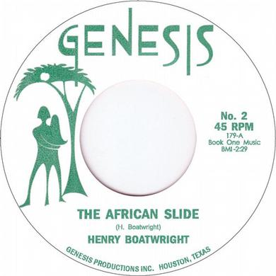 Henry Boatwright AFRICAN SLIDE Vinyl Record