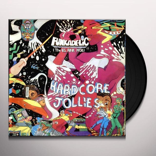 Funkadelic HARDCORE JOLLIES Vinyl Record - UK Import
