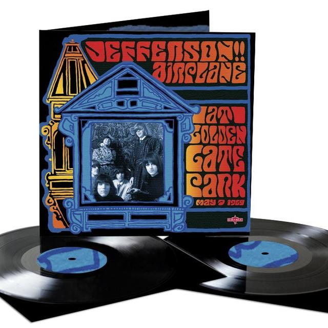 Jefferson Airplane AT GOLDEN GATE PARK Vinyl Record