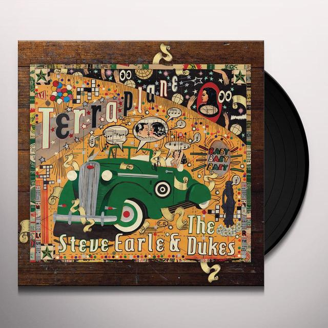Steve Earle TERRAPLANE (UK) (Vinyl)