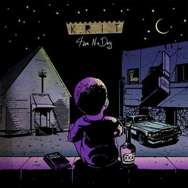 Big K.R.I.T. 4EVA N A DAY Vinyl Record