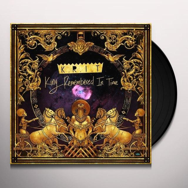 Big K.R.I.T. KING REMEMBERED IN TIME Vinyl Record