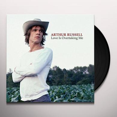 Arthur Russell LOVE IS OVERTAKING ME Vinyl Record