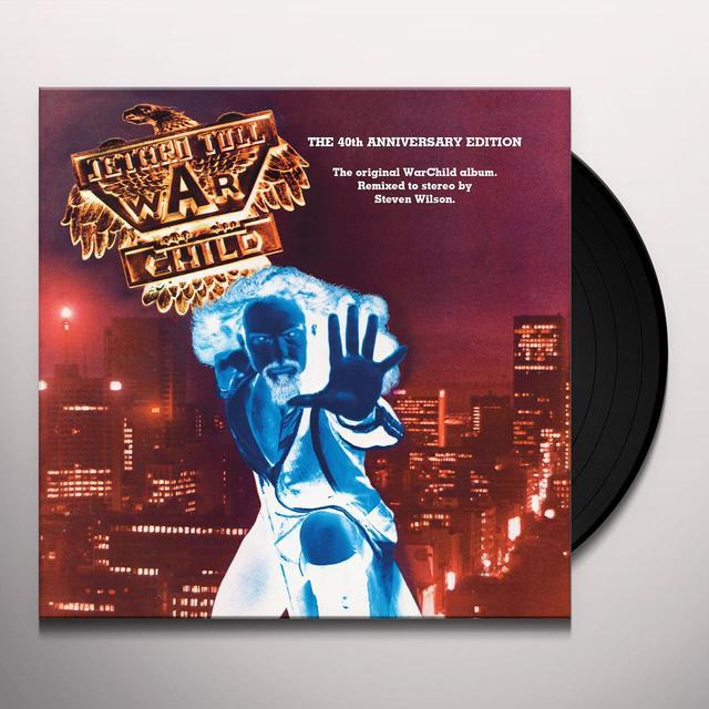 Jethro Tull WARCHILD Vinyl Record - 180 Gram Pressing