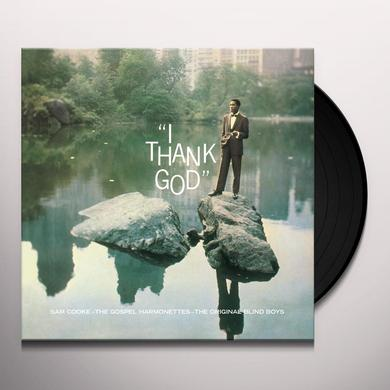 Sam Cooke I THANK GOD Vinyl Record