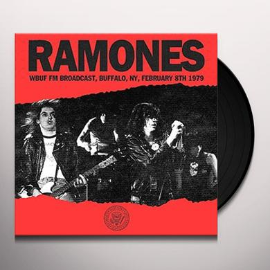 Ramones WBUF FM BROADCAST BUFFALO NY FEBRUARY 8TH 1979 Vinyl Record