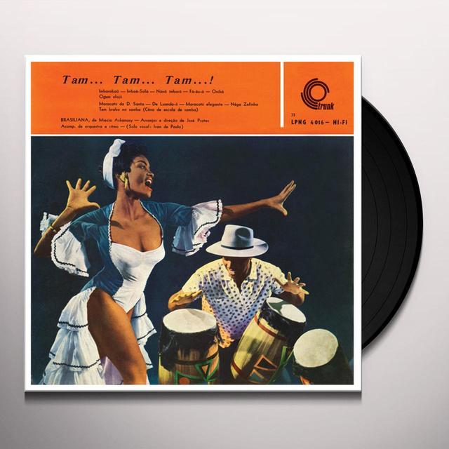 Jose Prates / Miecio Askanasy TAM TAM TAM Vinyl Record