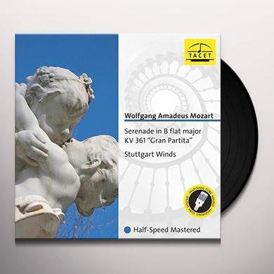 Mozart SERENADE IN B-FLAT MAJOR K. 361 GRAN PARTITA Vinyl Record