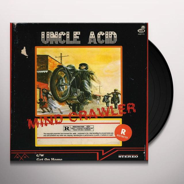 UNCLE ACID / DEADBEATS MIND CRAWLER Vinyl Record