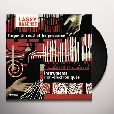 Lasry-Baschet INSTRUMENTS NON-ELECTRONIQUE Vinyl Record