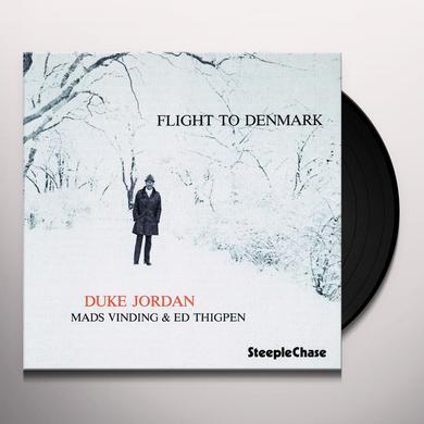 Duke Jordan FLIGHT TO DENMARK Vinyl Record