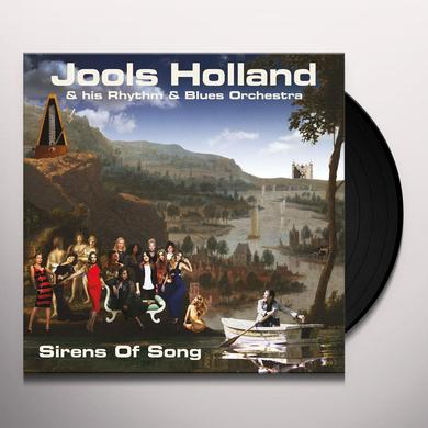 Jools Holland & His Rhythm & Blues Orchestra SIRENS OF SONG Vinyl Record