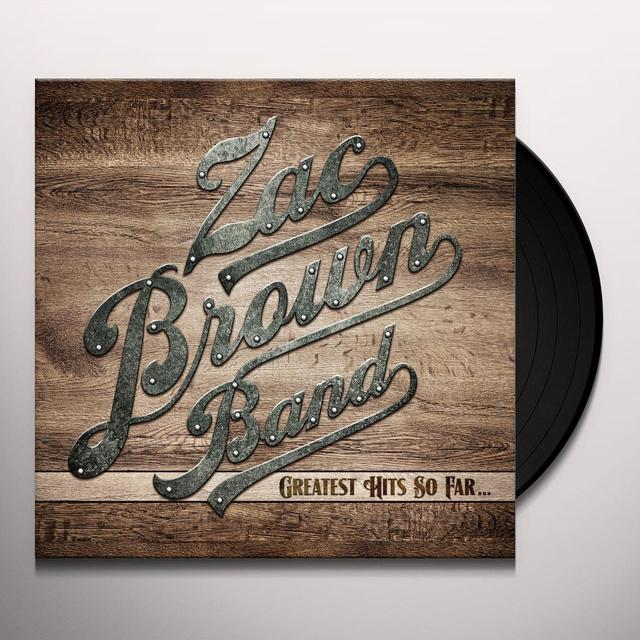 Zac Brown Band GREATEST HITS SO FAR (BONUS CD) Vinyl Record