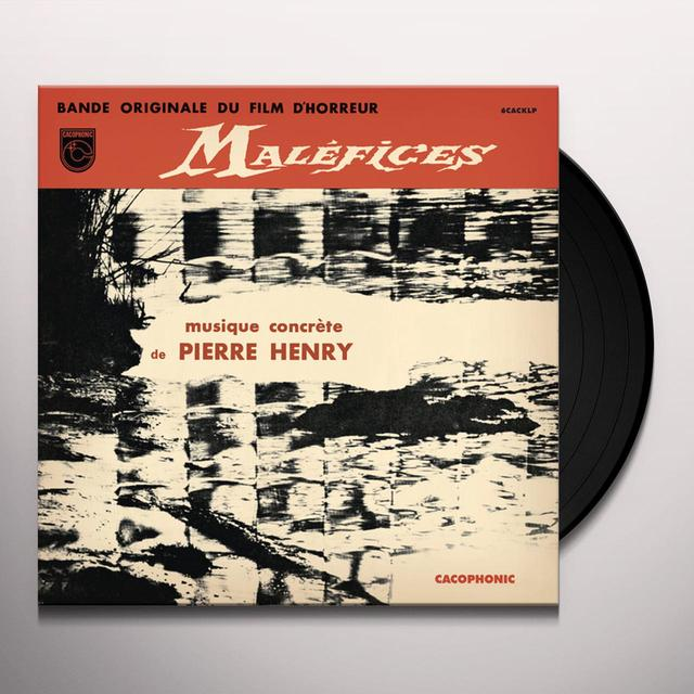 Pierre Henry MALEFICES Vinyl Record