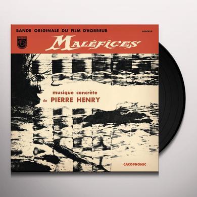 Pierre Henry MALEFICES Vinyl Record