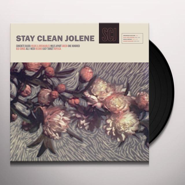 STAY CLEAN JOLENE Vinyl Record
