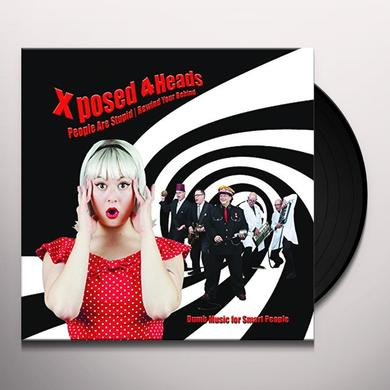 XPOSED 4HEADS DUMB MUSIC FOR SMART PEOPLE Vinyl Record