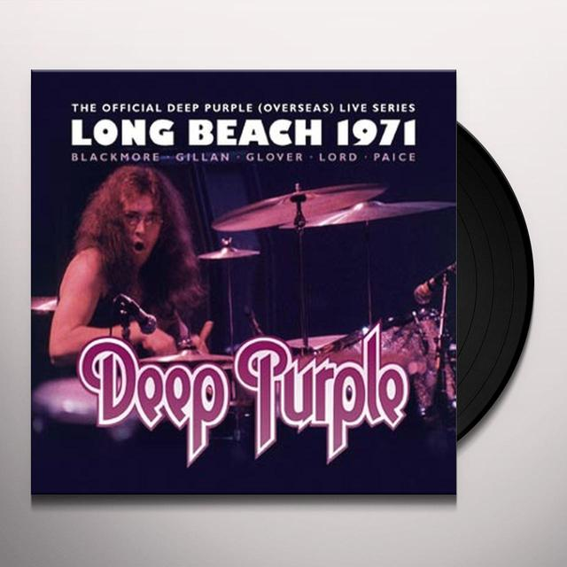 Deep Purple LONG BEACH 1971 Vinyl Record