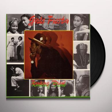 Ranking Dread GIRLS FIESTA Vinyl Record - UK Import