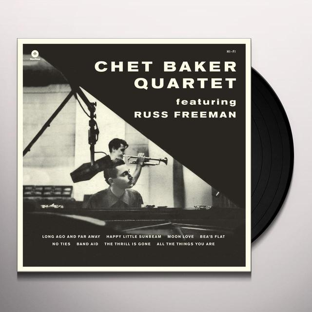 Russ Freeman - Chet Baker Quartet LEGENDARY 1956 SESSION Vinyl Record