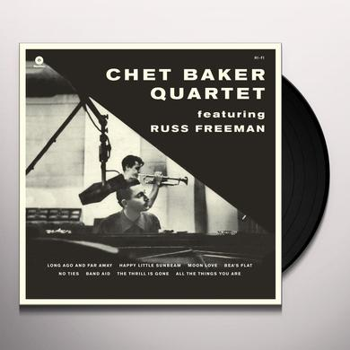 Russ Freeman - Chet Baker Quartet LEGENDARY 1956 SESSION Vinyl Record - Spain Release