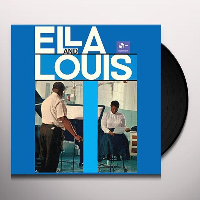 Ella Fitzgerald & Louis Armstrong  ELLA & LOUIS Vinyl Record - Spain Import