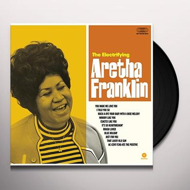 ELECTRIFYING ARETHA FRANKLIN Vinyl Record - Spain Import