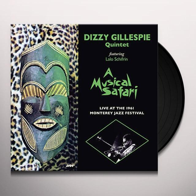 Dizzy Gillespie MUSICAL SAFARI LIVE AT MONTEREY Vinyl Record