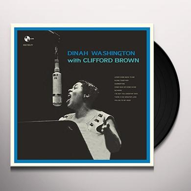 Dinah Washington / Clifford Brown WITH CLIFFORD BROWN Vinyl Record - Spain Import