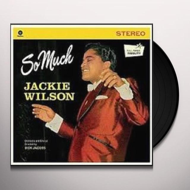 Jackie Wilson SO MUCH Vinyl Record - Spain Import