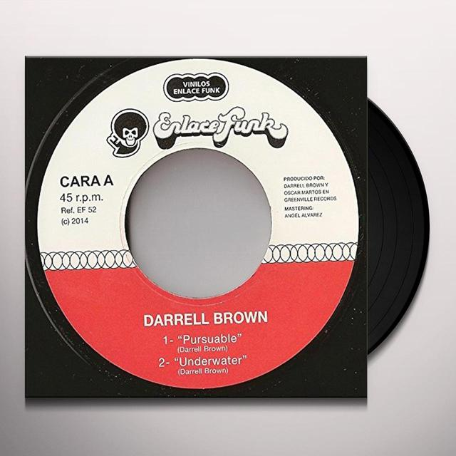 Darrell Brown ROCK N ROLL-PAINAJAIN Vinyl Record - UK Import