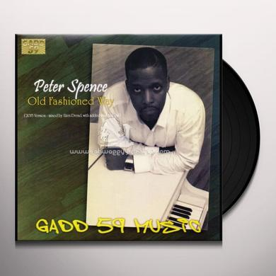 Peter Spence / Alvin Davis PROTO Vinyl Record