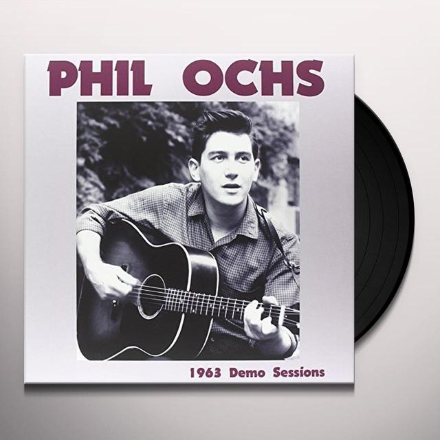 Phil Ochs 1963 DEMO SESSIONS Vinyl Record - Italy Import