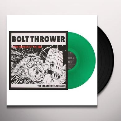Bolt Thrower EARACHE PEEL SESSIONS (GREEN VINYL) Vinyl Record