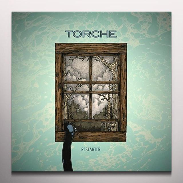 Torche RESTARTER (PURPLE VINYL) Vinyl Record