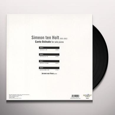 TEN HOLT / VEEN CANTO OSTINATO FOR SOLO PIANO Vinyl Record