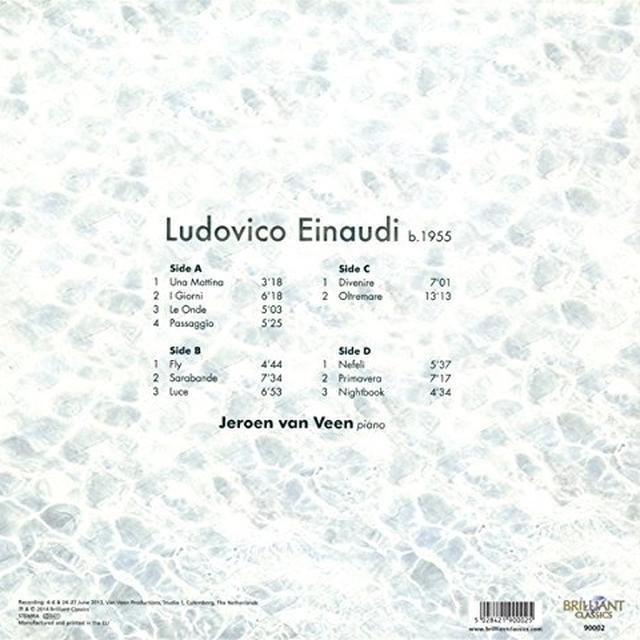 EINAUDI / VEEN PNO MUSIC Vinyl Record