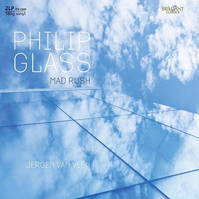 GLASS / VEEN MAD RUSH Vinyl Record