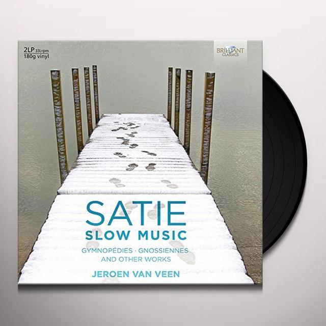 SATIE / VEEN SLOW MUSIC Vinyl Record