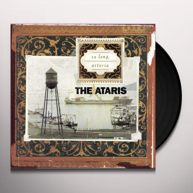 Ataris SO LONG ASTORIA Vinyl Record