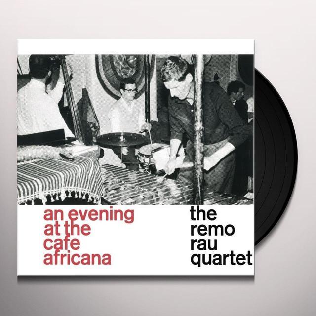 REMO RAU QUARTET AT THE CAFE AFRICANA Vinyl Record