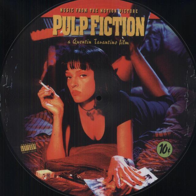 PULP FICTION / O.S.T. (REIS) (PICT) PULP FICTION / O.S.T. Vinyl Record - Reissue, Picture Disc