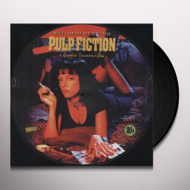 PULP FICTION / O.S.T. (REIS) (PICT) PULP FICTION / O.S.T. Vinyl Record - Reissue, Picture Disc