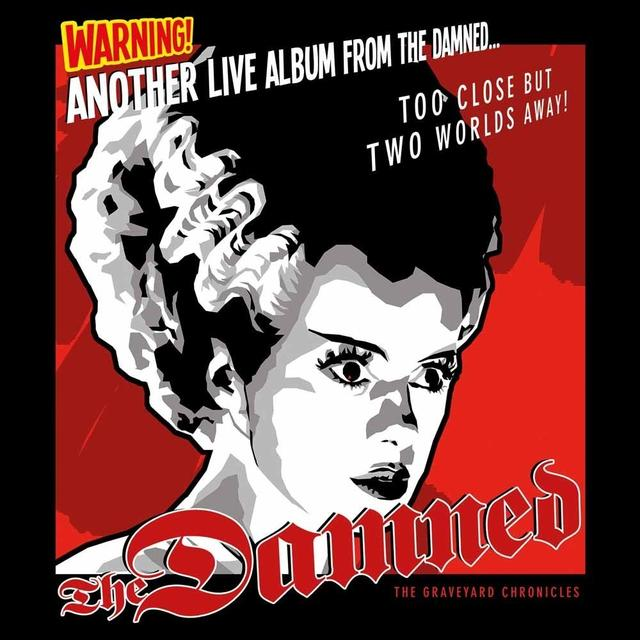 ANOTHER LIVE ALBUM FROM THE DAMNED Vinyl Record
