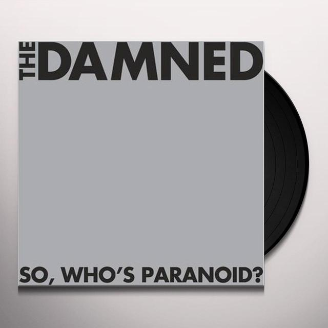 The Damned SO WHO'S PARANOID Vinyl Record